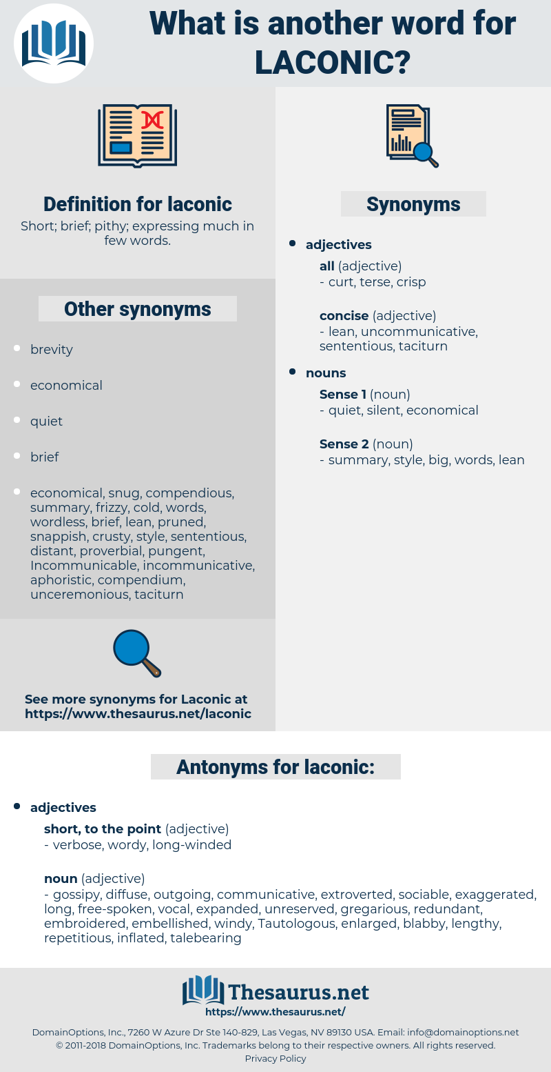 laconic, synonym laconic, another word for laconic, words like laconic, thesaurus laconic