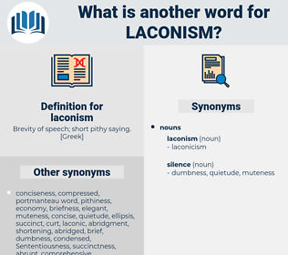 laconism, synonym laconism, another word for laconism, words like laconism, thesaurus laconism