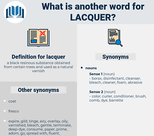 lacquer, synonym lacquer, another word for lacquer, words like lacquer, thesaurus lacquer