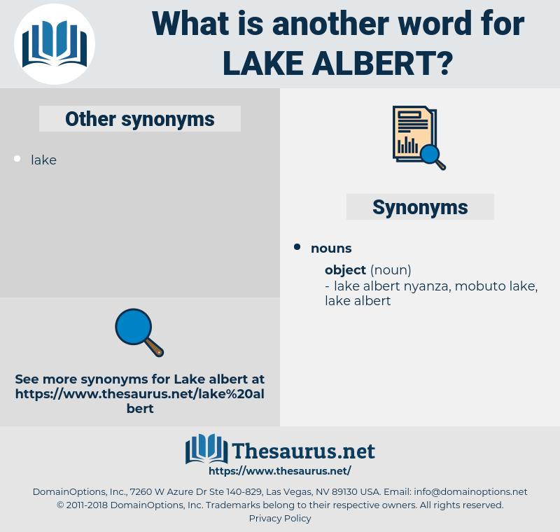 lake albert, synonym lake albert, another word for lake albert, words like lake albert, thesaurus lake albert