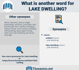 lake dwelling, synonym lake dwelling, another word for lake dwelling, words like lake dwelling, thesaurus lake dwelling