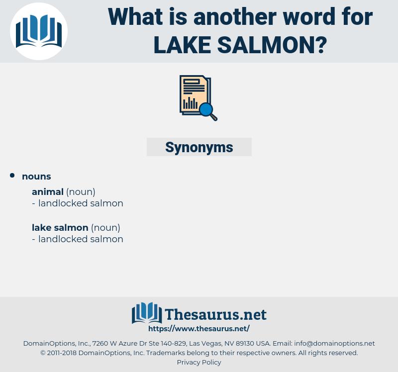 lake salmon, synonym lake salmon, another word for lake salmon, words like lake salmon, thesaurus lake salmon