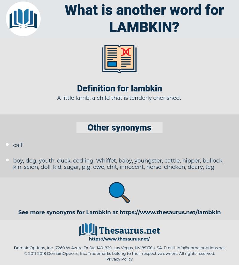 lambkin, synonym lambkin, another word for lambkin, words like lambkin, thesaurus lambkin