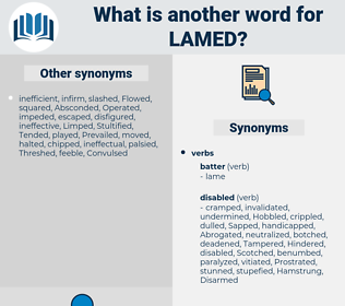 Lamed, synonym Lamed, another word for Lamed, words like Lamed, thesaurus Lamed