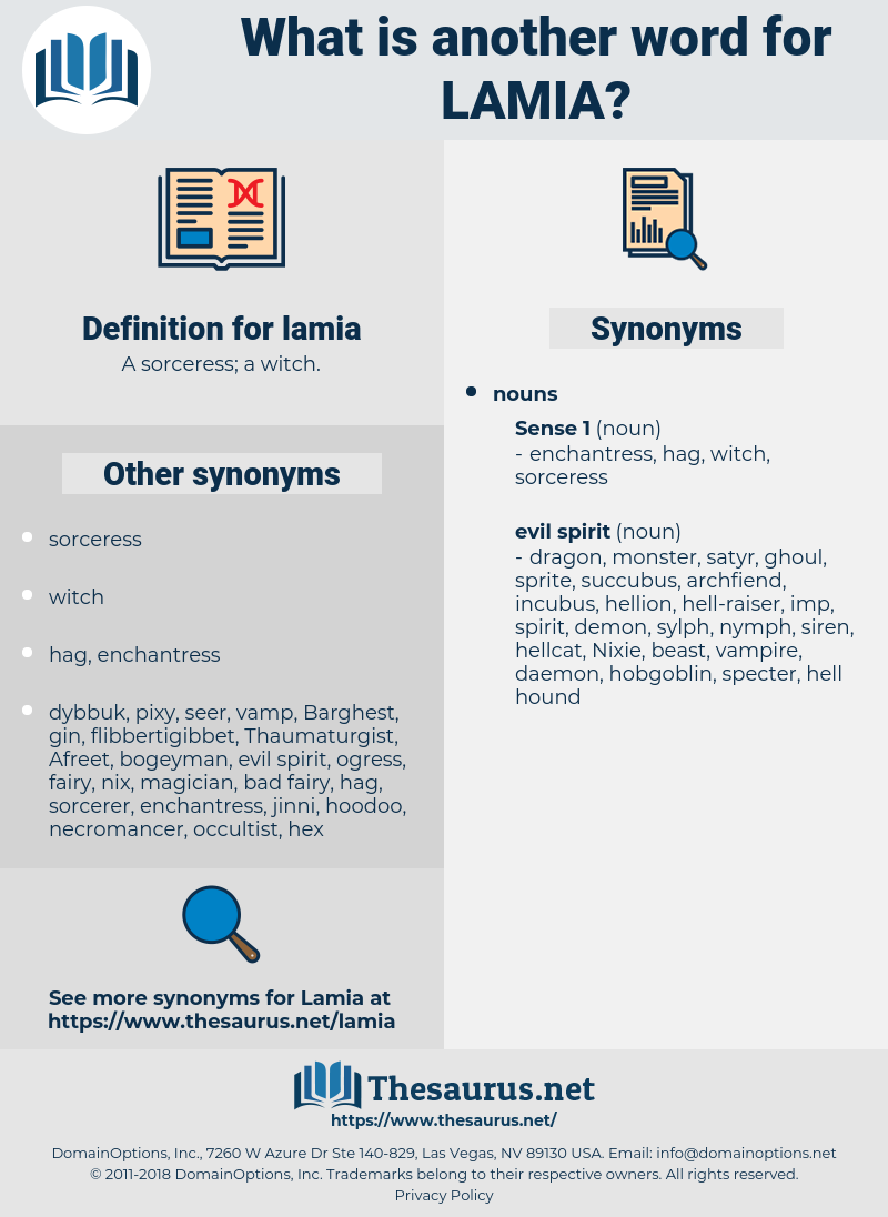 lamia, synonym lamia, another word for lamia, words like lamia, thesaurus lamia