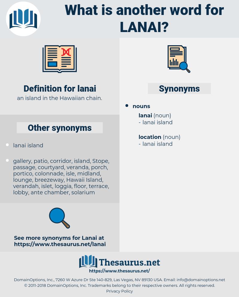 lanai, synonym lanai, another word for lanai, words like lanai, thesaurus lanai