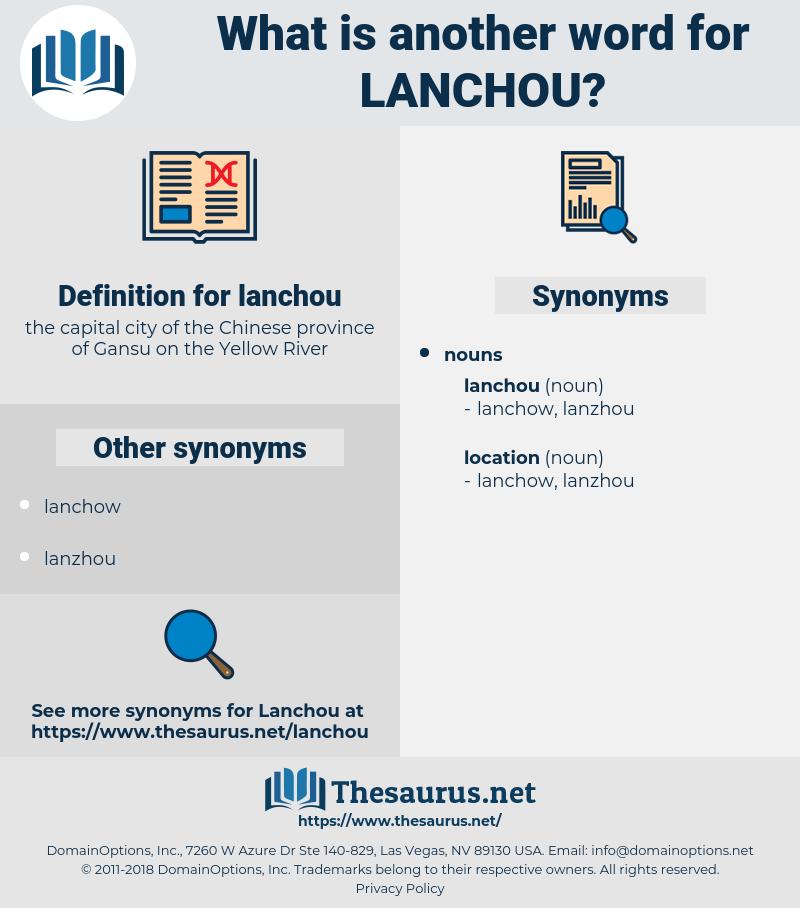 lanchou, synonym lanchou, another word for lanchou, words like lanchou, thesaurus lanchou