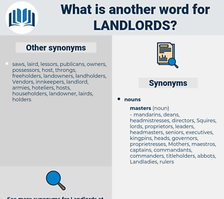 landlords, synonym landlords, another word for landlords, words like landlords, thesaurus landlords