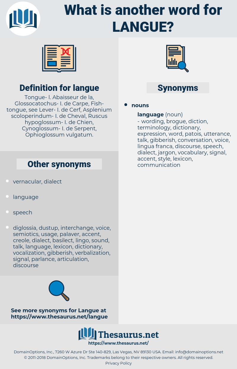 langue, synonym langue, another word for langue, words like langue, thesaurus langue