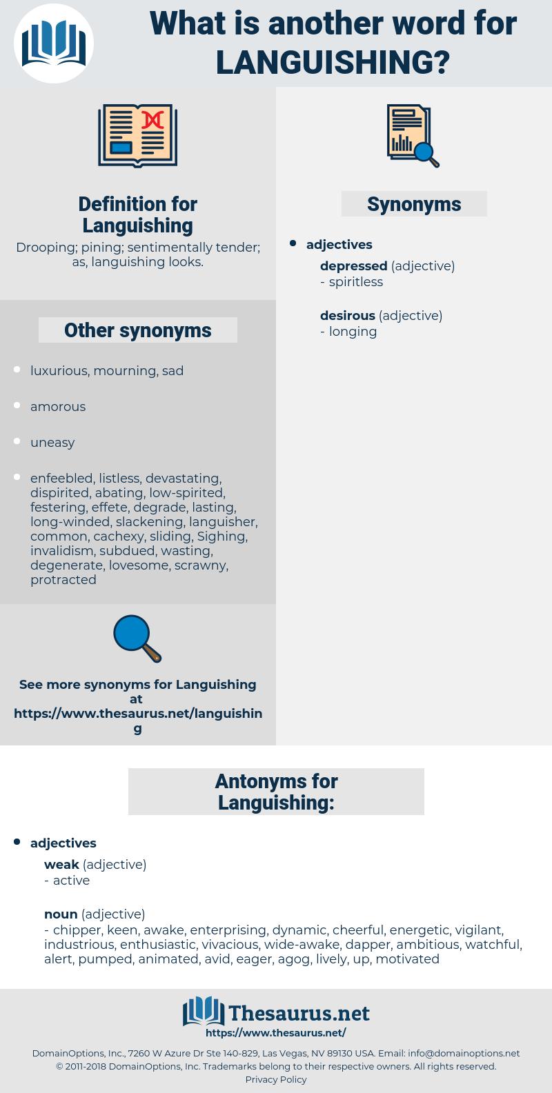 Languishing, synonym Languishing, another word for Languishing, words like Languishing, thesaurus Languishing