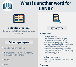 lank, synonym lank, another word for lank, words like lank, thesaurus lank