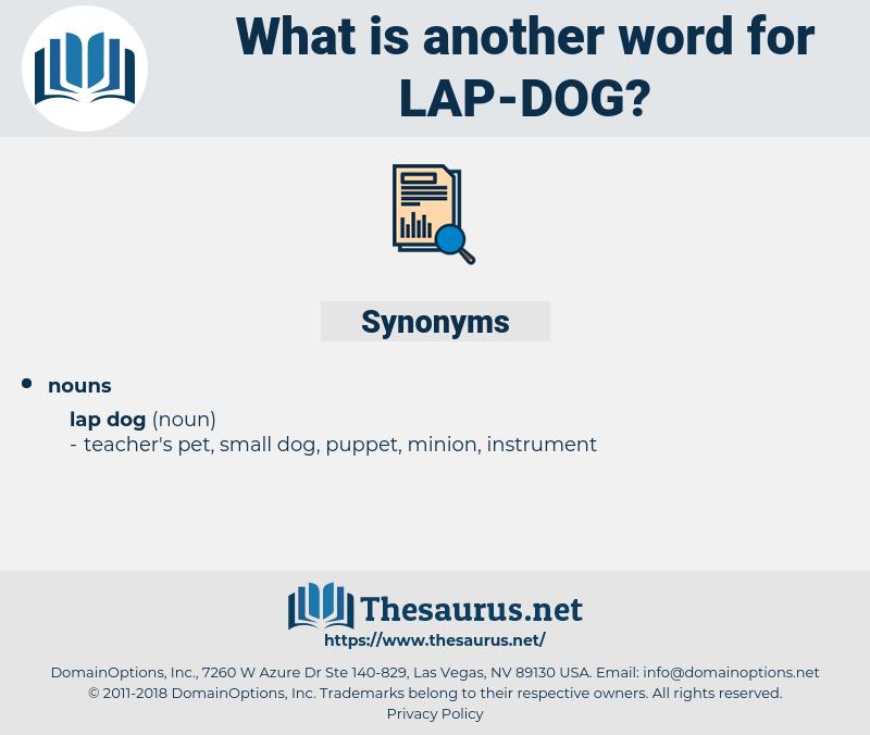 lap dog, synonym lap dog, another word for lap dog, words like lap dog, thesaurus lap dog