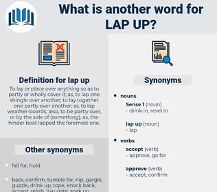 lap up, synonym lap up, another word for lap up, words like lap up, thesaurus lap up