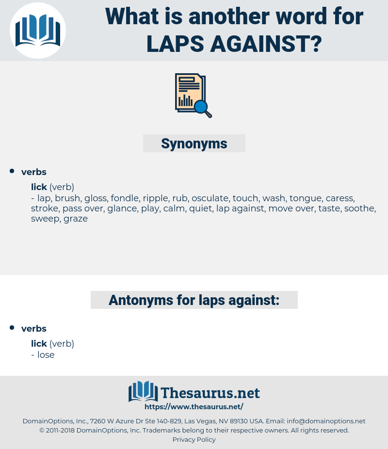 laps against, synonym laps against, another word for laps against, words like laps against, thesaurus laps against