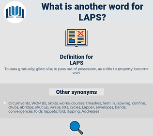 LAPS, synonym LAPS, another word for LAPS, words like LAPS, thesaurus LAPS