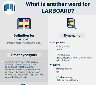 larboard, synonym larboard, another word for larboard, words like larboard, thesaurus larboard