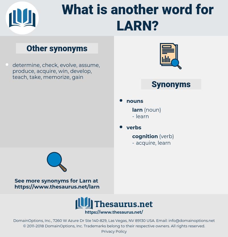 larn, synonym larn, another word for larn, words like larn, thesaurus larn