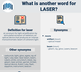 laser, synonym laser, another word for laser, words like laser, thesaurus laser