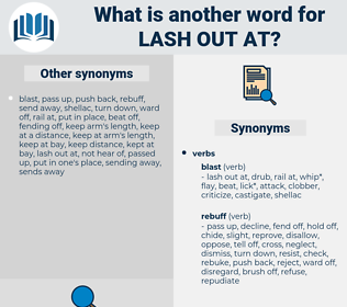 lash out at, synonym lash out at, another word for lash out at, words like lash out at, thesaurus lash out at