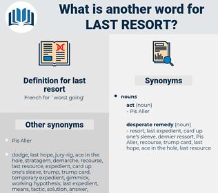 last resort, synonym last resort, another word for last resort, words like last resort, thesaurus last resort