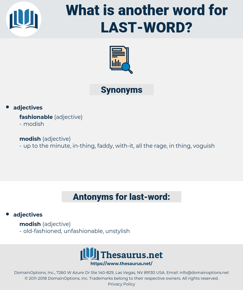last word, synonym last word, another word for last word, words like last word, thesaurus last word