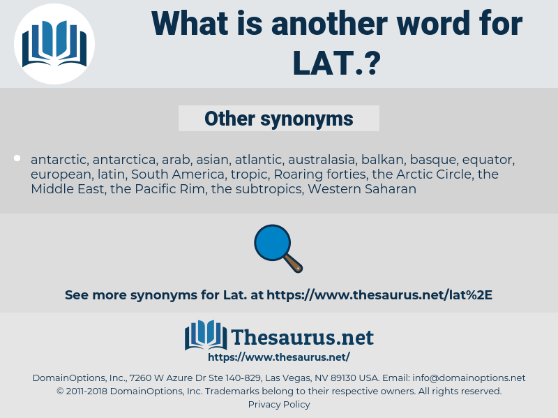 lat, synonym lat, another word for lat, words like lat, thesaurus lat
