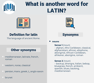 latin, synonym latin, another word for latin, words like latin, thesaurus latin