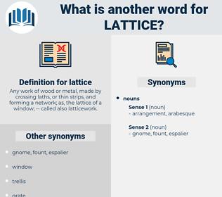 lattice, synonym lattice, another word for lattice, words like lattice, thesaurus lattice