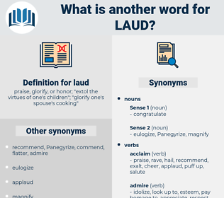 laud, synonym laud, another word for laud, words like laud, thesaurus laud