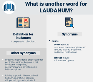 laudanum, synonym laudanum, another word for laudanum, words like laudanum, thesaurus laudanum