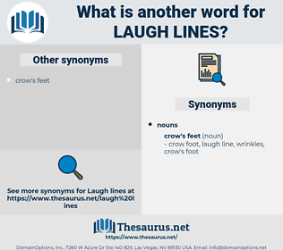 laugh lines, synonym laugh lines, another word for laugh lines, words like laugh lines, thesaurus laugh lines
