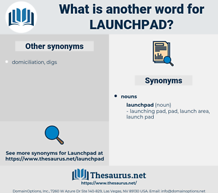 launchpad, synonym launchpad, another word for launchpad, words like launchpad, thesaurus launchpad