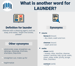 launder, synonym launder, another word for launder, words like launder, thesaurus launder
