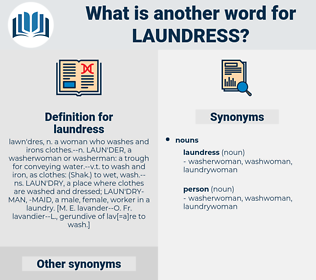 laundress, synonym laundress, another word for laundress, words like laundress, thesaurus laundress