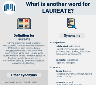 laureate, synonym laureate, another word for laureate, words like laureate, thesaurus laureate