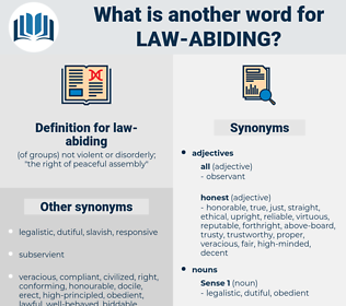 law-abiding, synonym law-abiding, another word for law-abiding, words like law-abiding, thesaurus law-abiding