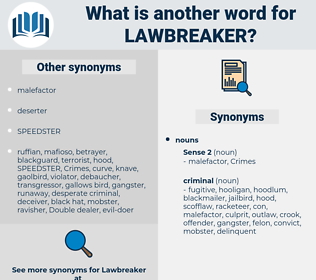 lawbreaker, synonym lawbreaker, another word for lawbreaker, words like lawbreaker, thesaurus lawbreaker