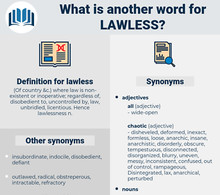 lawless, synonym lawless, another word for lawless, words like lawless, thesaurus lawless