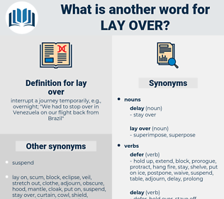 lay over, synonym lay over, another word for lay over, words like lay over, thesaurus lay over