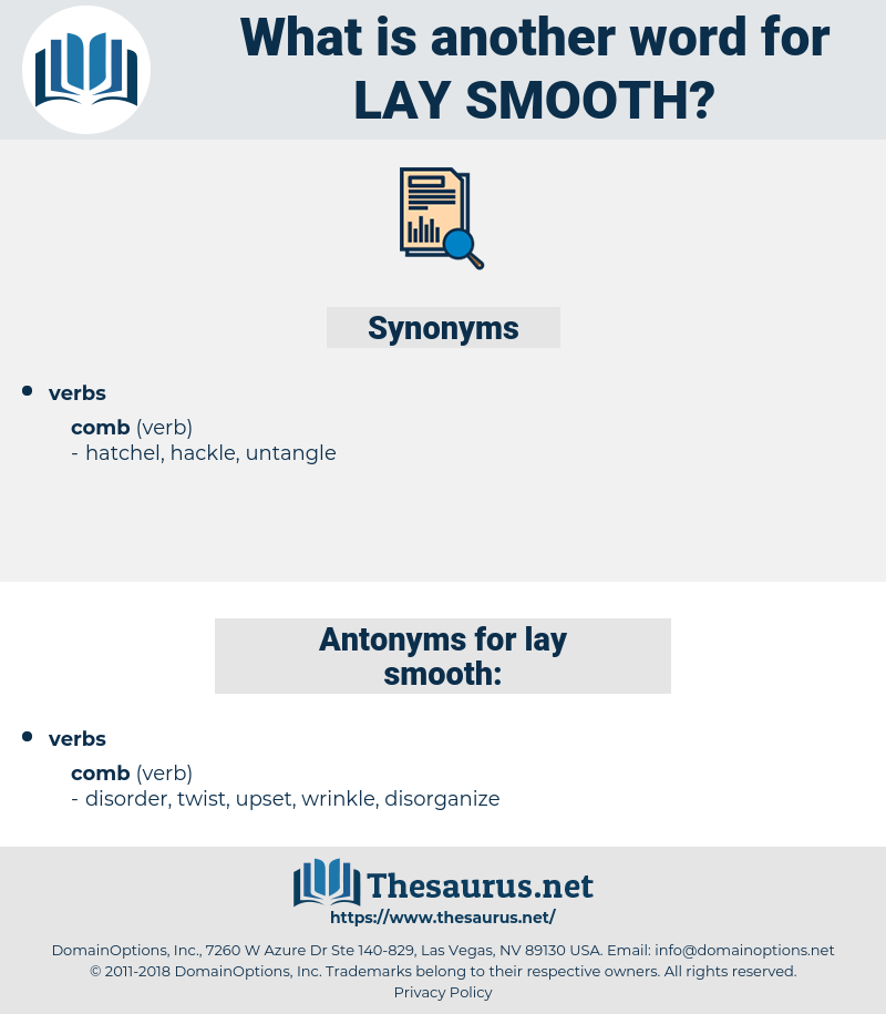 lay smooth, synonym lay smooth, another word for lay smooth, words like lay smooth, thesaurus lay smooth