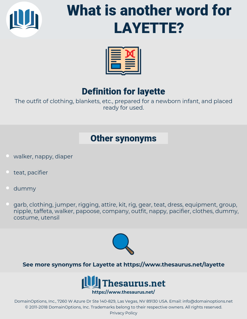 layette, synonym layette, another word for layette, words like layette, thesaurus layette