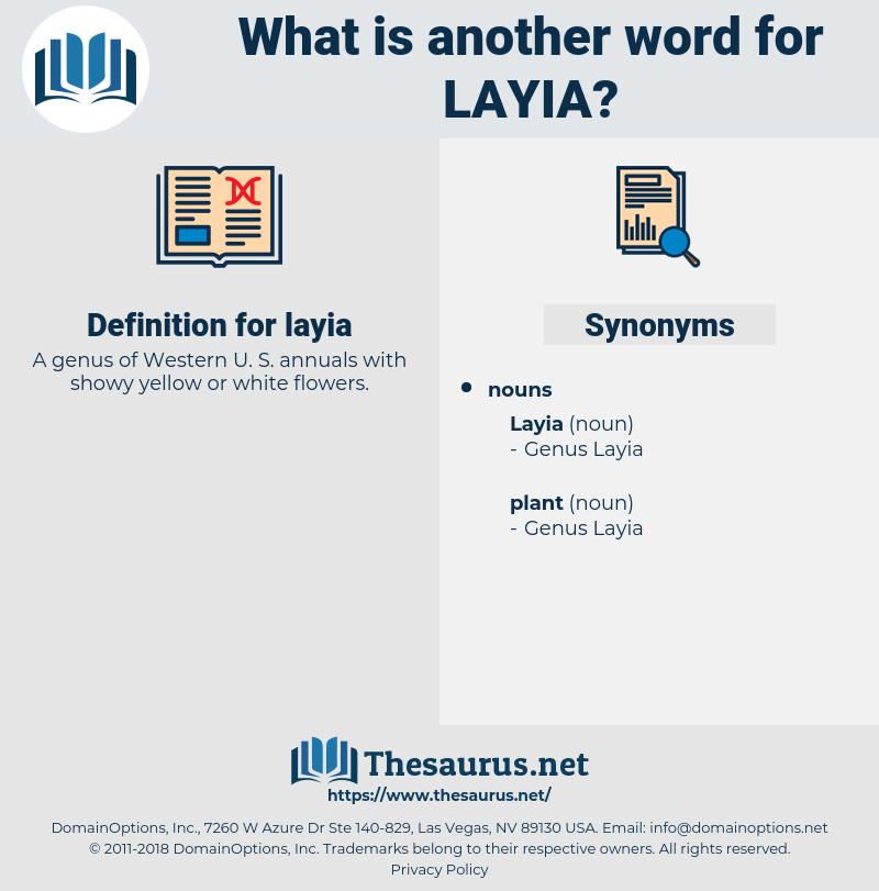 layia, synonym layia, another word for layia, words like layia, thesaurus layia
