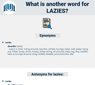 lazies, synonym lazies, another word for lazies, words like lazies, thesaurus lazies