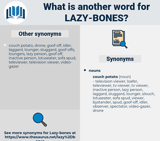 lazy-bones, synonym lazy-bones, another word for lazy-bones, words like lazy-bones, thesaurus lazy-bones