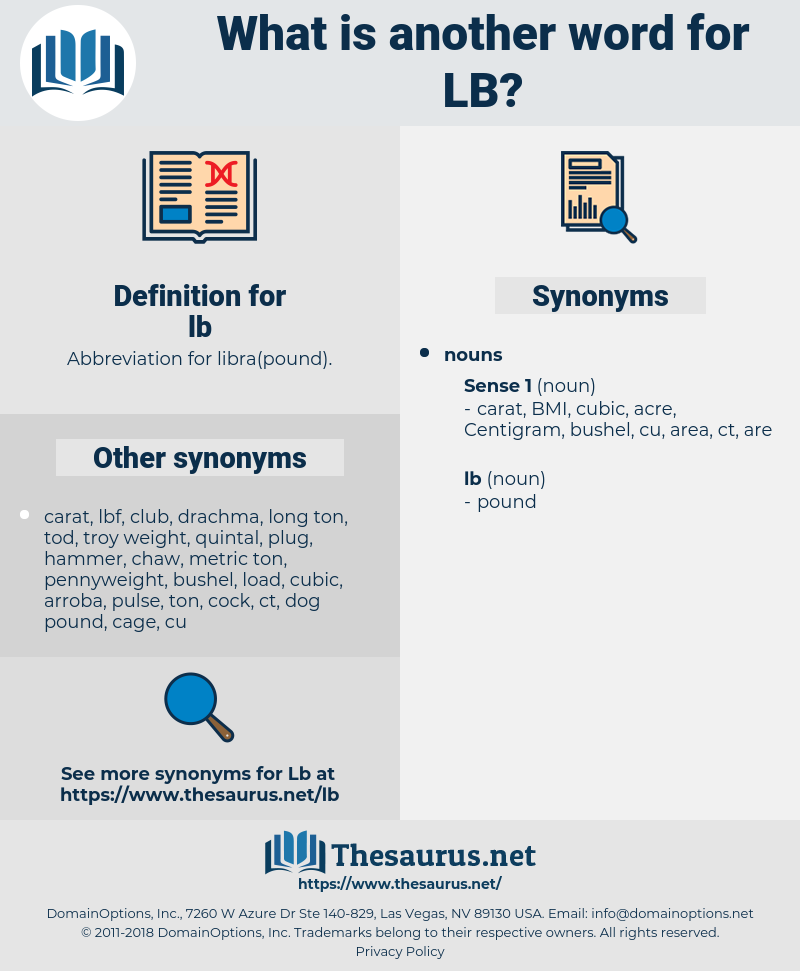 lb, synonym lb, another word for lb, words like lb, thesaurus lb