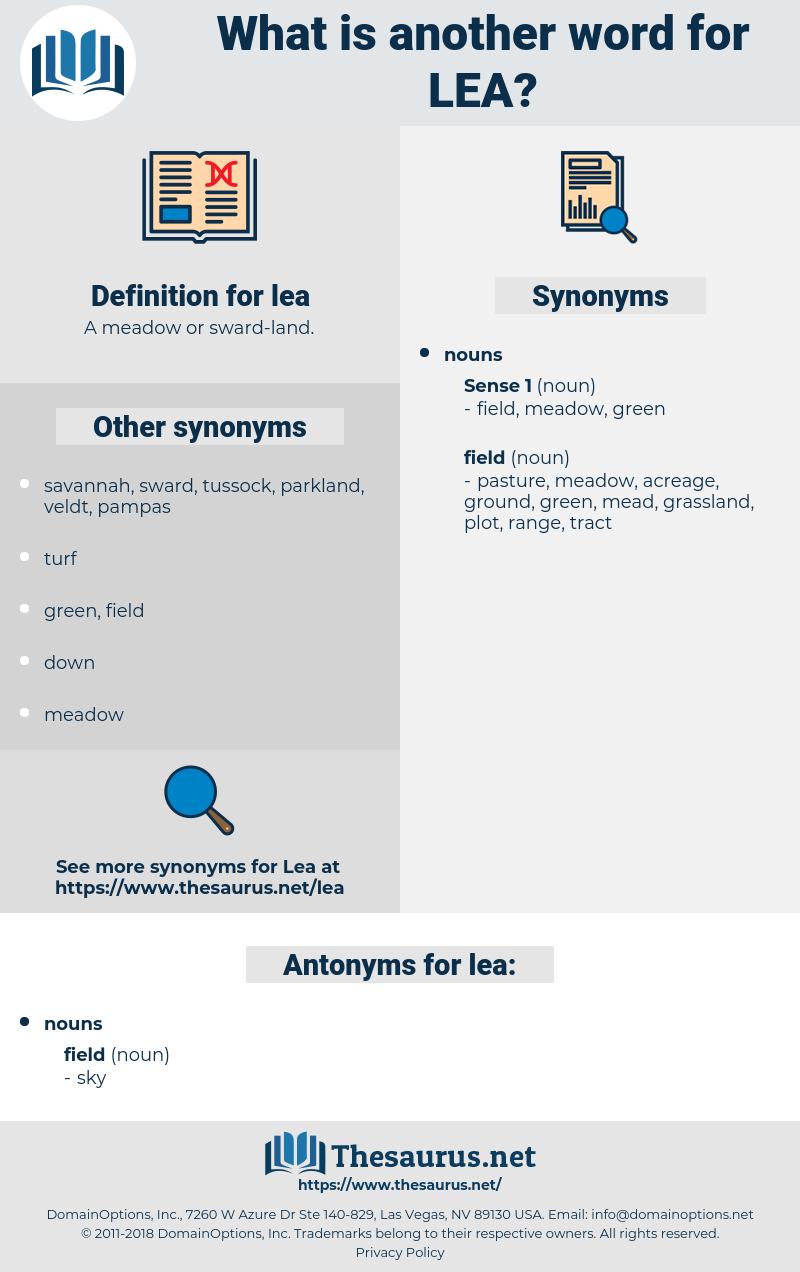 lea, synonym lea, another word for lea, words like lea, thesaurus lea