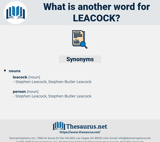 leacock, synonym leacock, another word for leacock, words like leacock, thesaurus leacock