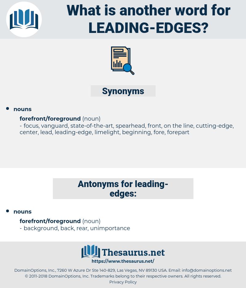 leading-edges, synonym leading-edges, another word for leading-edges, words like leading-edges, thesaurus leading-edges