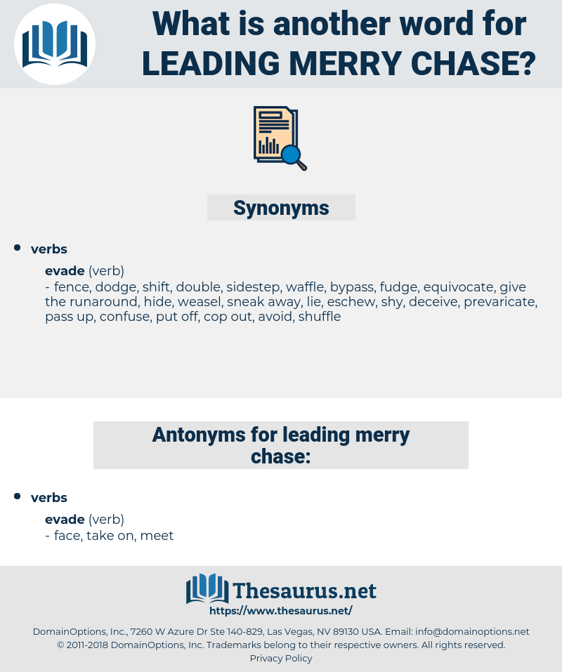 leading merry chase, synonym leading merry chase, another word for leading merry chase, words like leading merry chase, thesaurus leading merry chase