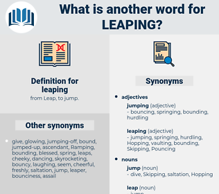leaping, synonym leaping, another word for leaping, words like leaping, thesaurus leaping